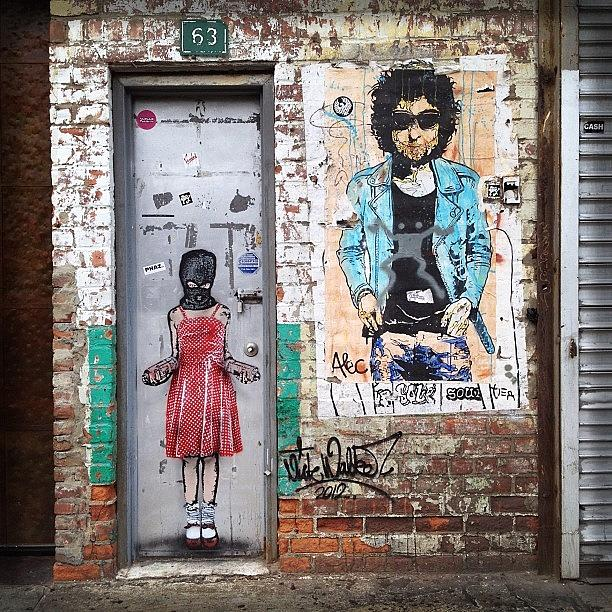 Summer Photograph - Graffiti Artist by Randy Lemoine