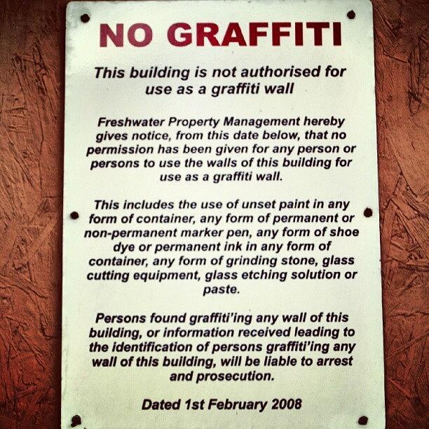 Graffiti Photograph - Graffiti by Lewis Ross