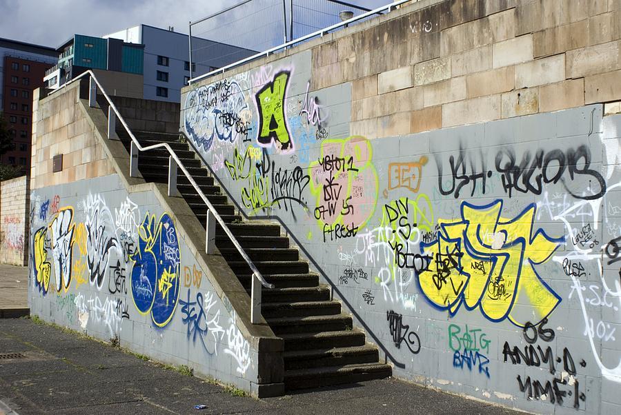 Graffiti Photograph - Graffiti by Mark Williamson
