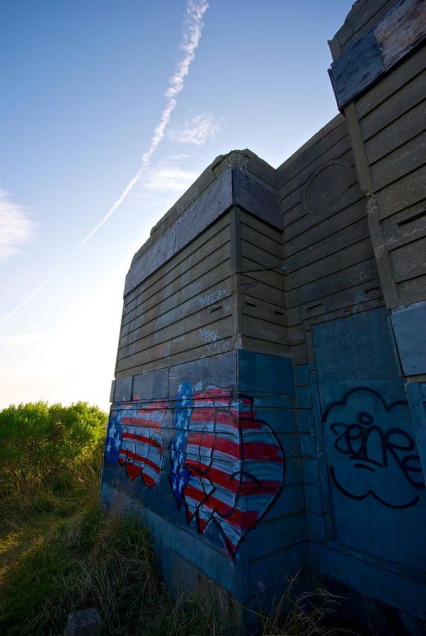 Montauk Photograph - Graffiti by Mike Horvath