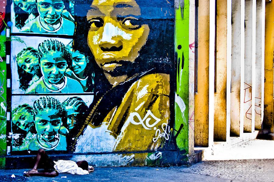 Lapa Photograph - Graffiti by Stefano  Figalo