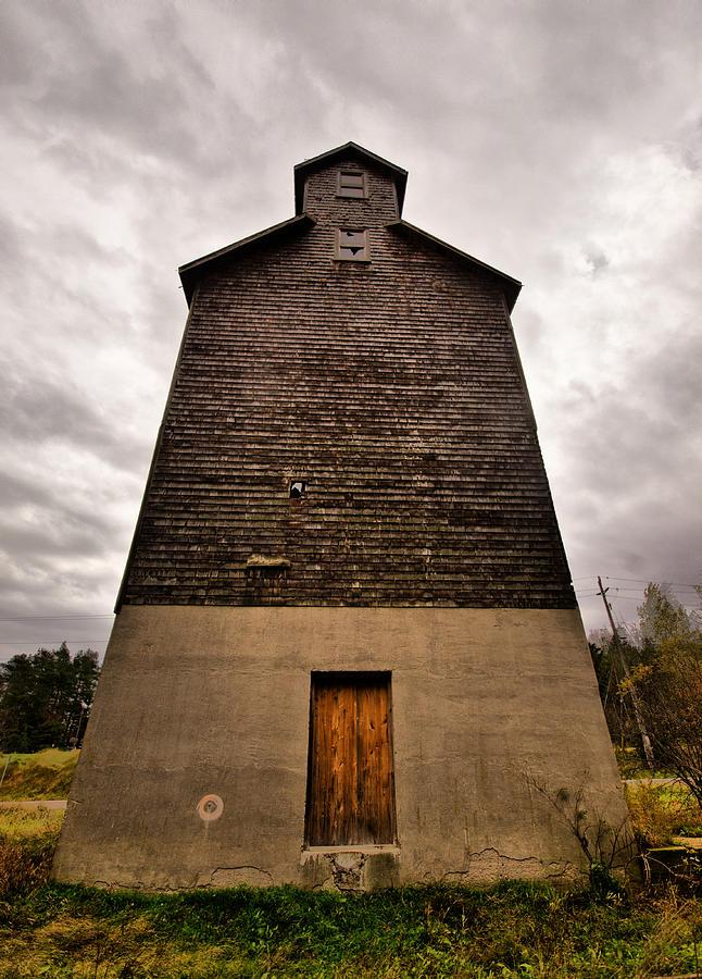 Grain Elevator Photograph