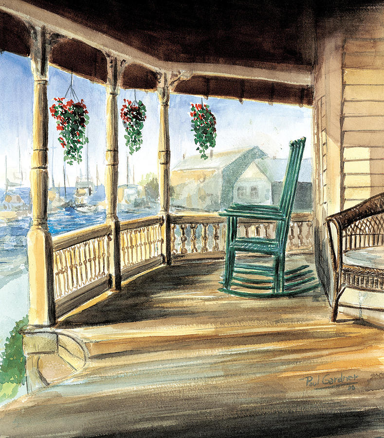 Gram's Porch by Paul Gardner
