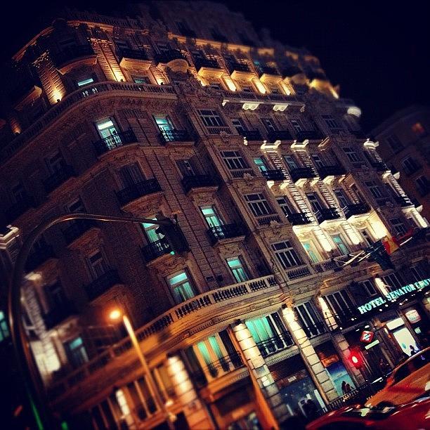 Madrid Photograph - Gran Vía! I ❤ by Dvon Medrano