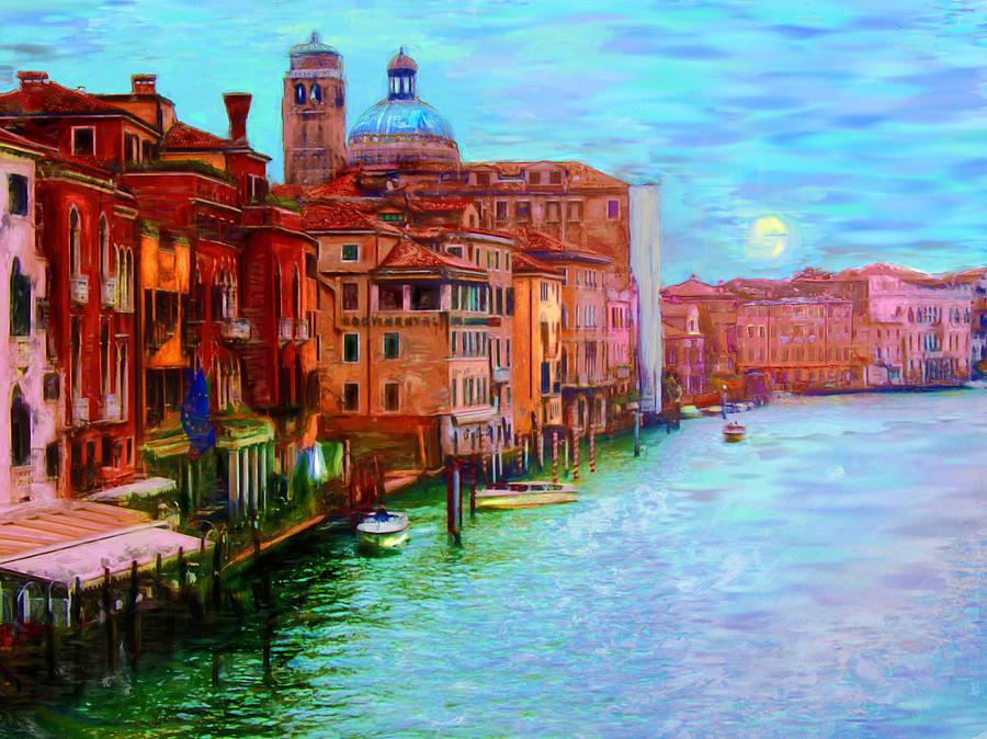 Grand Canal Venice by Carla Dreams