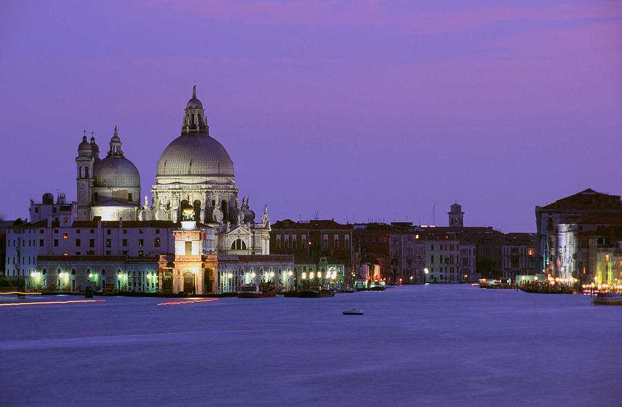 Grand Canal Photograph - Grand Canal Venice by Carlos Diaz