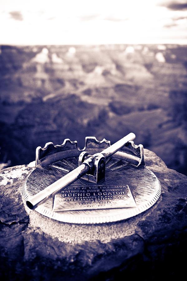 Grand Canyon Photograph - Grand Canyon - Sight Tube by Scott Sawyer