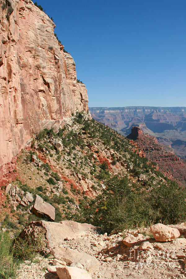 Adventure Photograph - Grand Canyon National Park Bright Angel Loop Arizona Usa by Audrey Campion