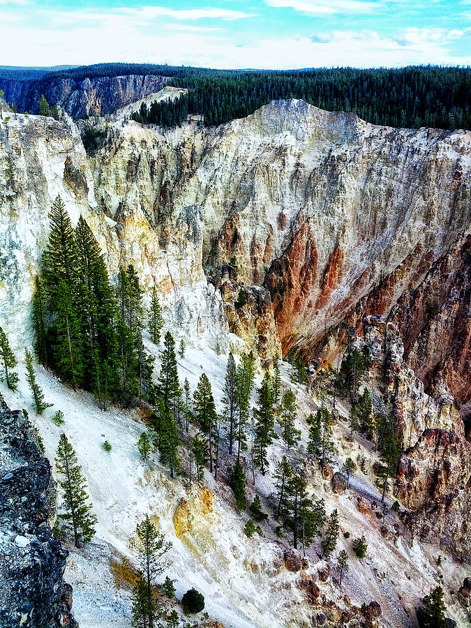 Yellowstone National Park Photograph - Grand Canyon Of Yellowstone by Kelly Reber