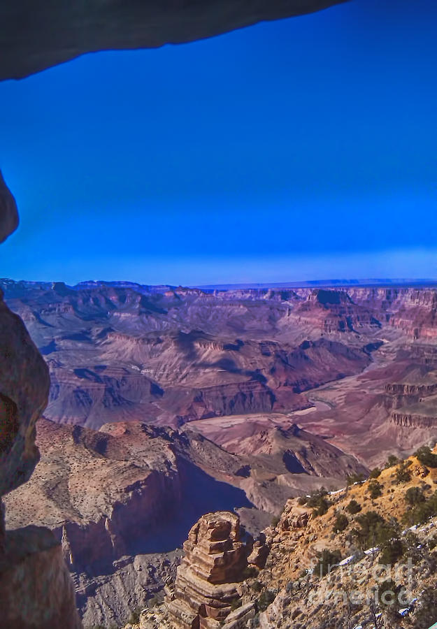 Grand Canyon Photograph - Grand Canyon Overlook by Jeremy Linot