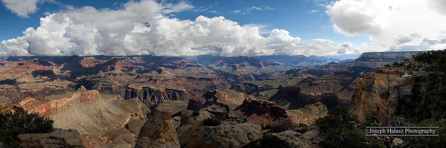 Grand Canyon Panorama Photograph by Joseph Halasz