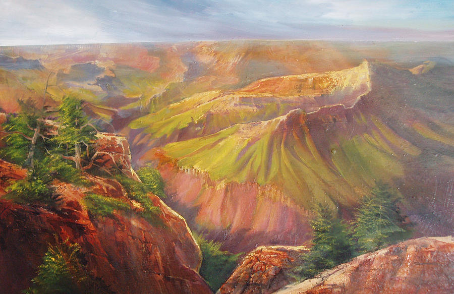 Grand Canyon Painting - Grand Canyon by Robert Carver