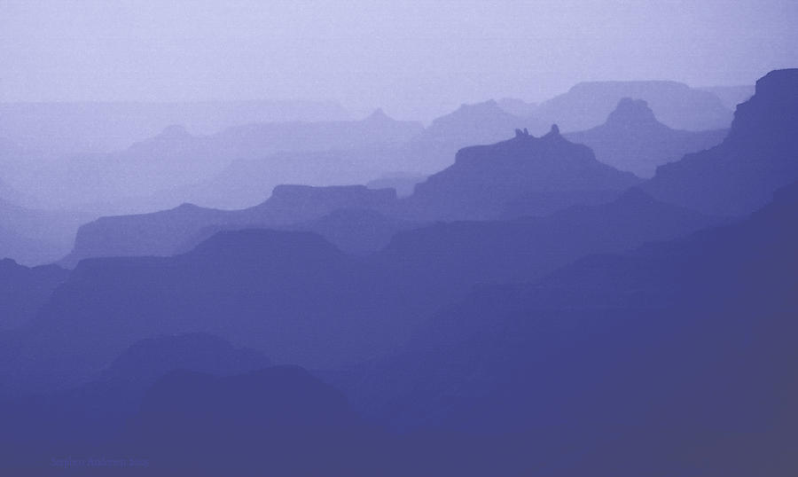 Grand Canyon Silhouettes by Stephen Andersen