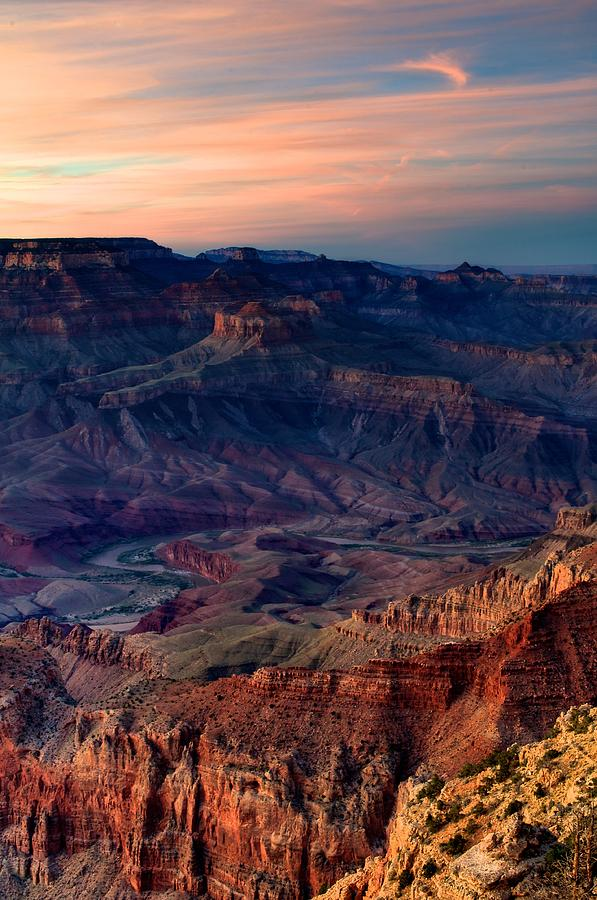 America Photograph - Grand Canyon Sunset by C Thomas Willard