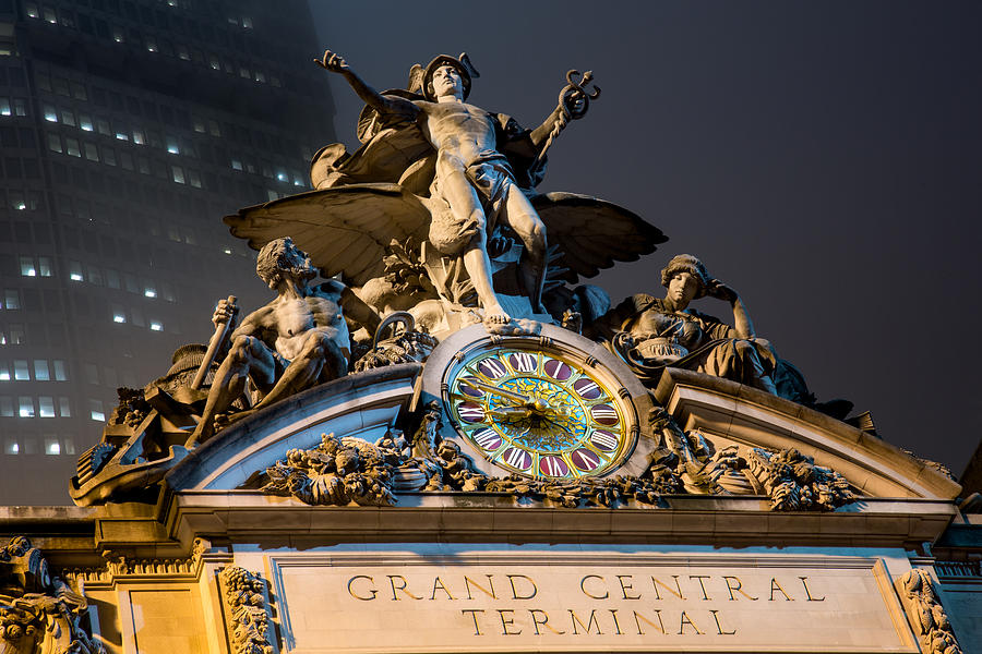 Grand Central Photograph - Grand Central  by John Dryzga