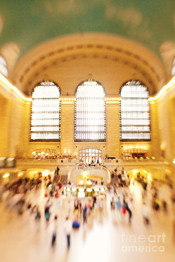 Grand Central Station Photograph - Grand Central Terminal New York City by Kim Fearheiley