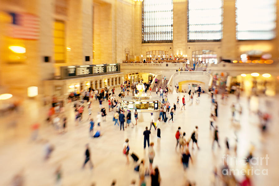 Grand Central Terminal Photograph - Grand Central Terminal NYC by Kim Fearheiley