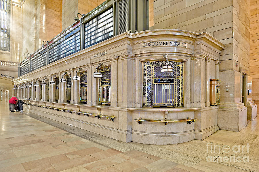 Grand Central Station Photograph - Grand Central Terminal by Susan Candelario