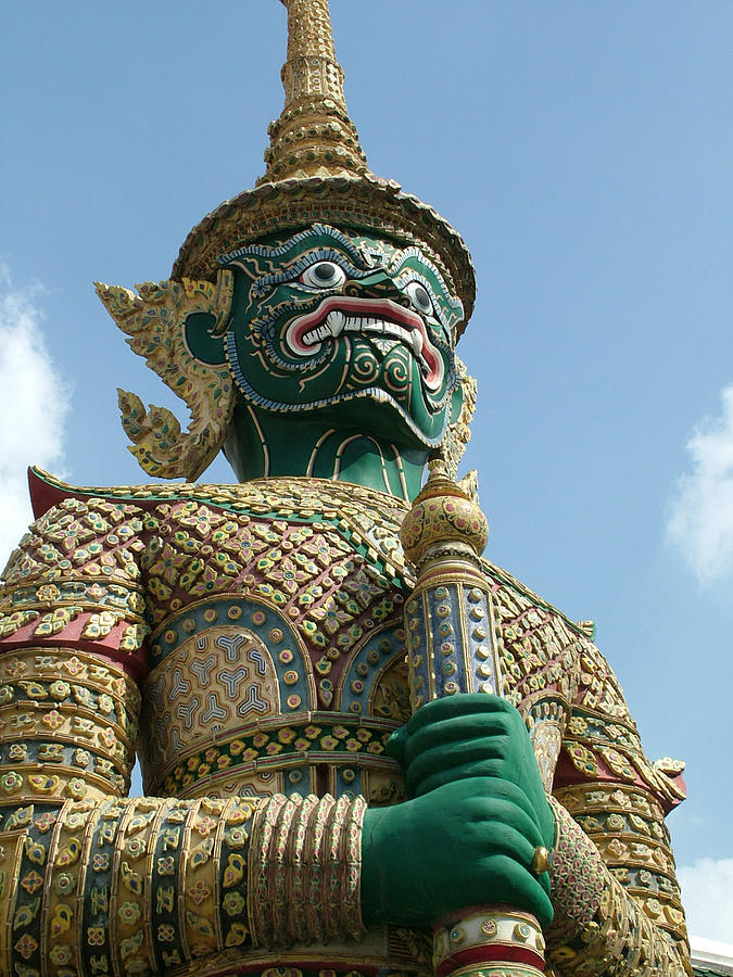 Statue Photograph - Grand Palace V1.3 by Guardians of the Future