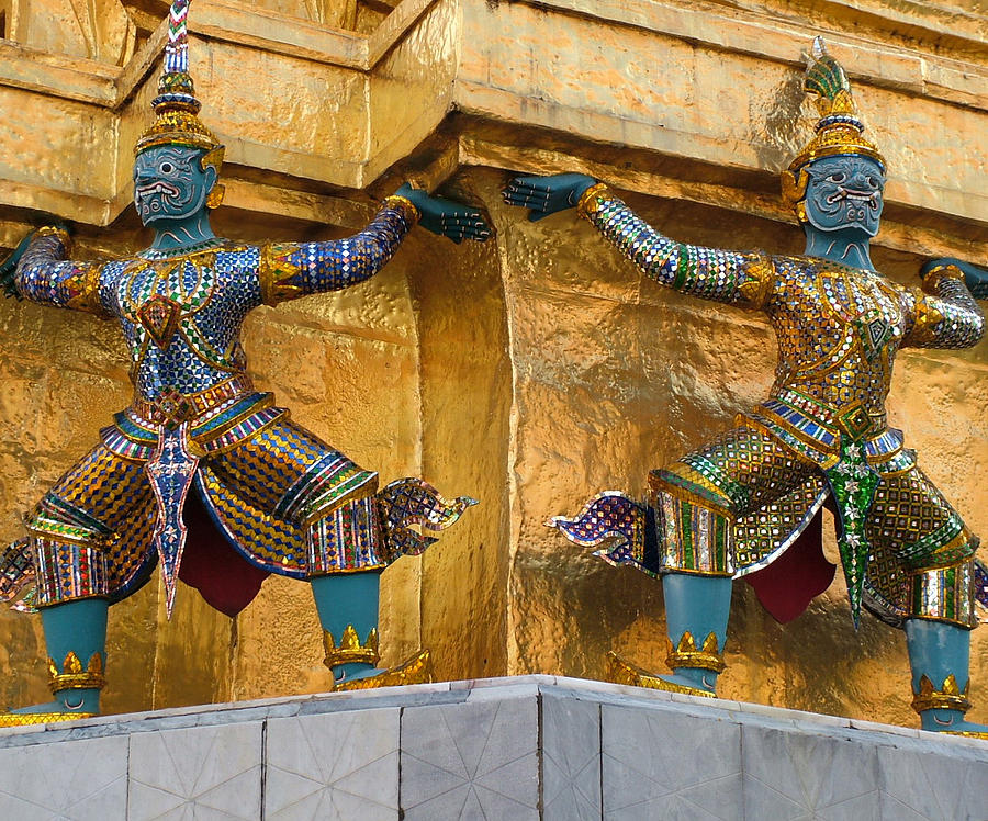 Statue Photograph - Grand Palace V1.5 by Guardians of the Future