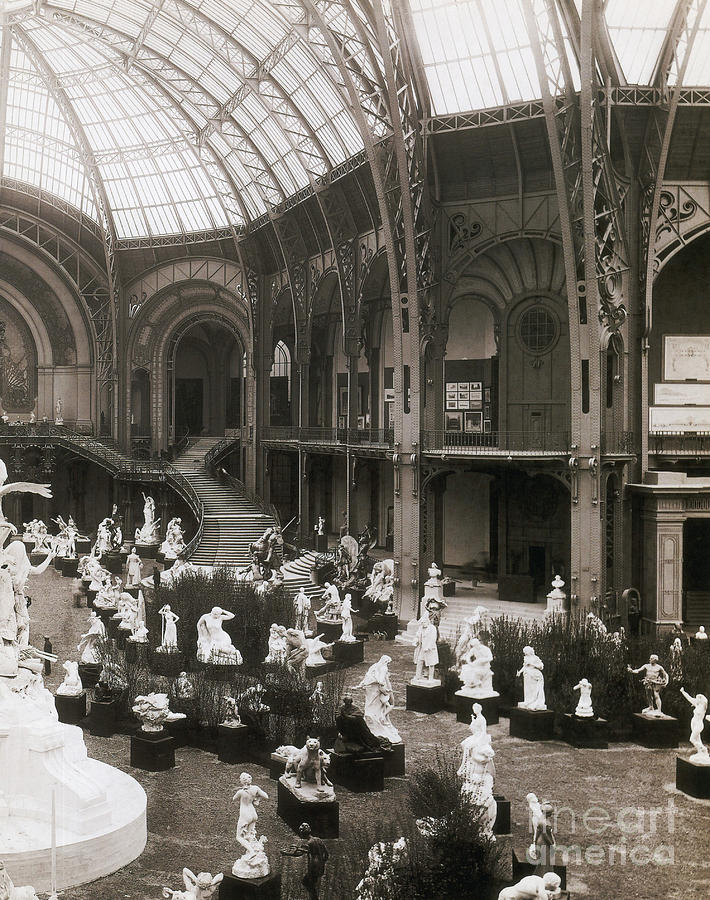 Grand palais paris expo 1900 photograph by science source - Grand palais expo horaires ...