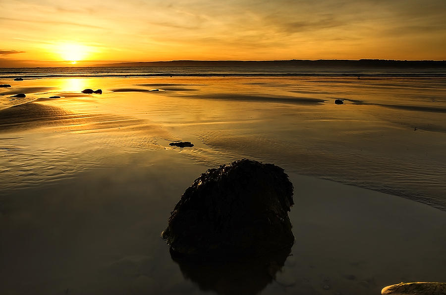 Bay Photograph - Grand Rock by Svetlana Sewell