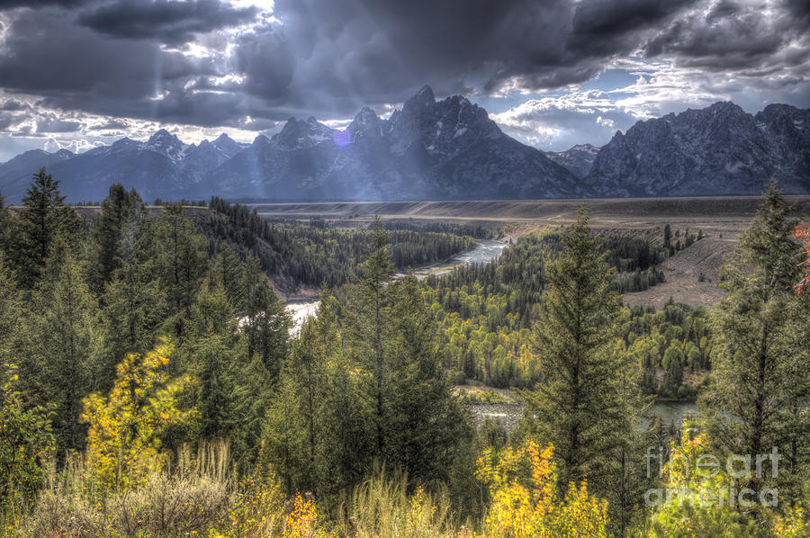 Grand Teton National Park Photograph - Grand Teton National Park And Snake River by Dustin K Ryan