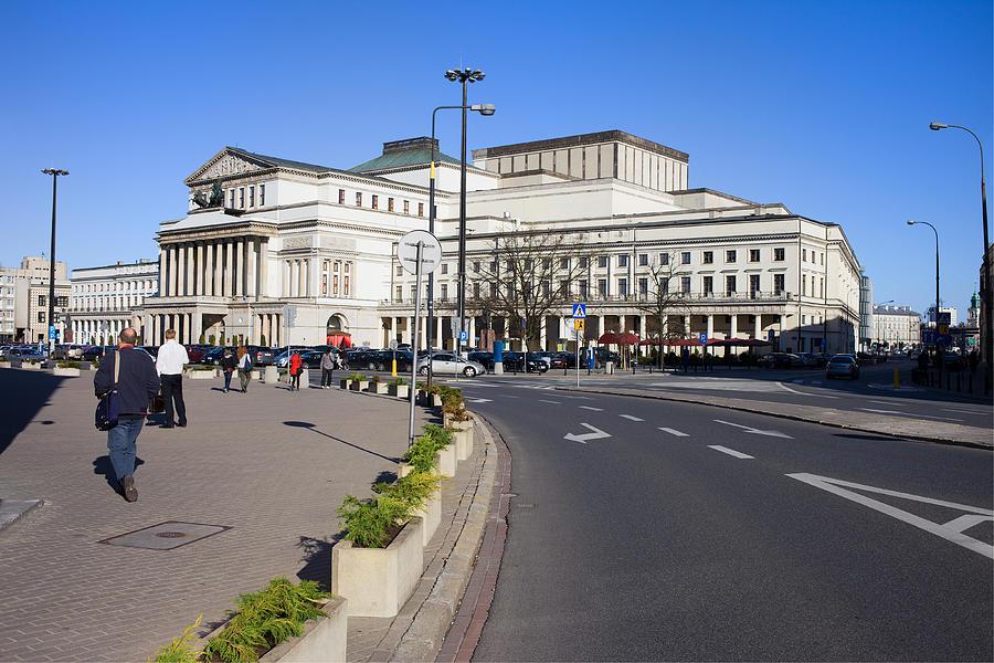 Warsaw Photograph - Grand Theatre In Warsaw by Artur Bogacki