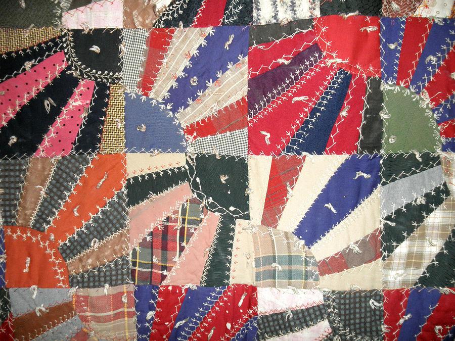 Quilt Photograph - Grandma Bairds Quilt by Wayne Potrafka