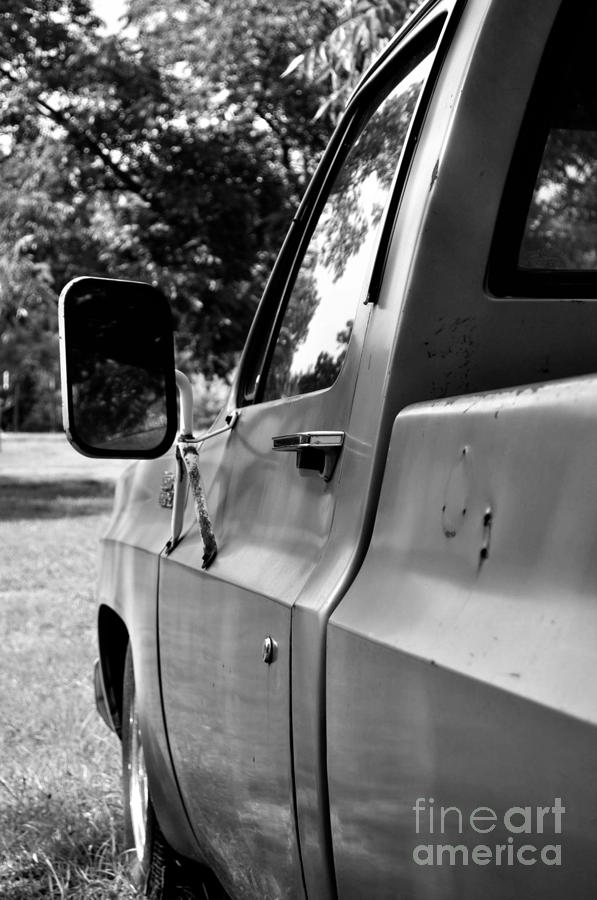 Ford Photograph - Grandpas Truck by Catherine Jarret