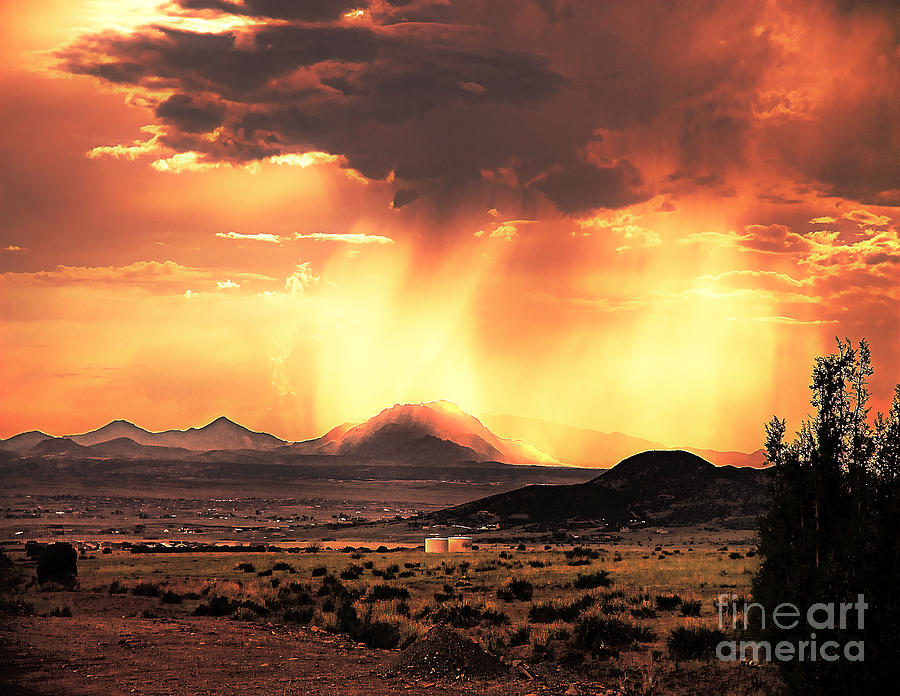 Arne J Hansen Photograph - Granite Mountain by Arne Hansen