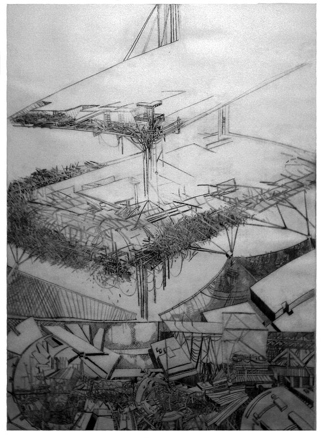 Abstract Drawing - Graphic Art  Europa 2013 by Waldemar Szysz