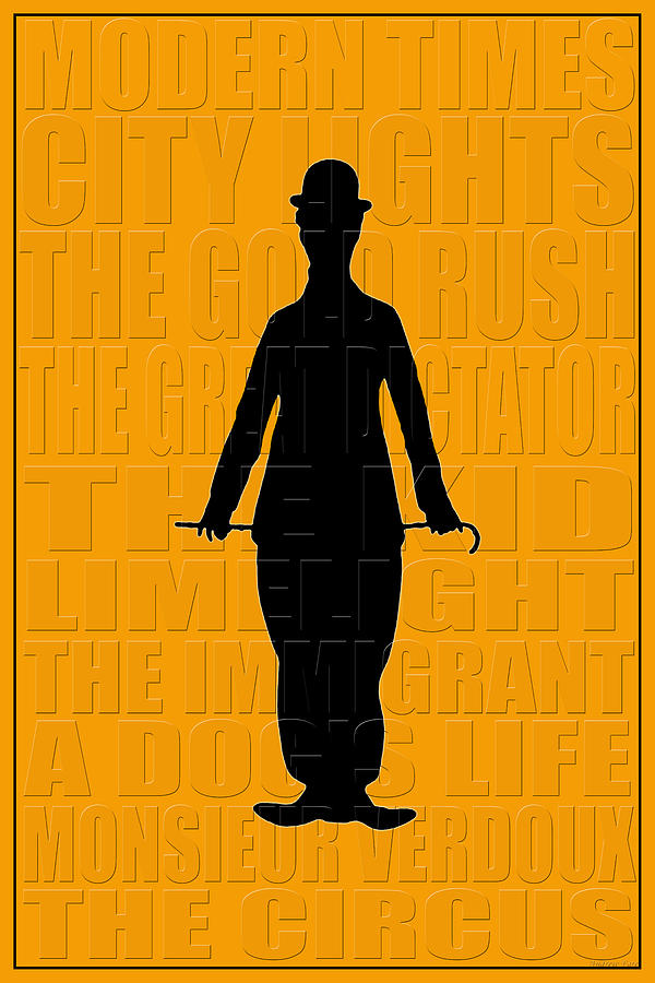 Charlie Chaplin Photograph - Graphic Chaplin by Andrew Fare