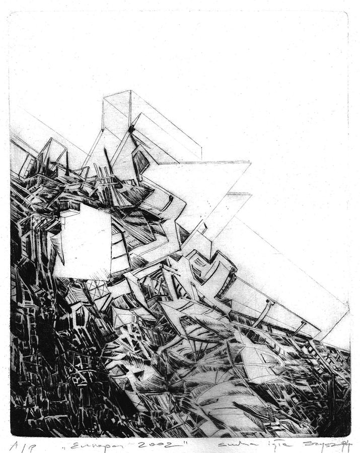 Abstract Drawing - Graphics Europa 2014 by Waldemar Szysz