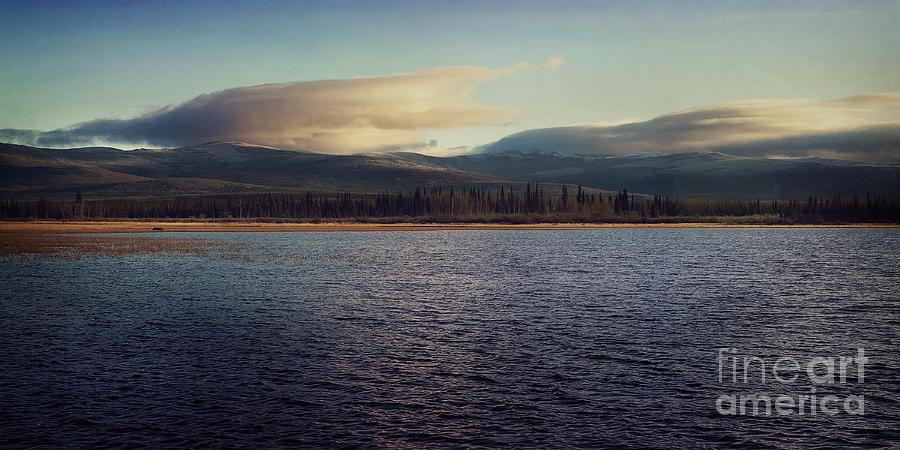 Gravel Lake Photograph - Gravel Lake by Priska Wettstein