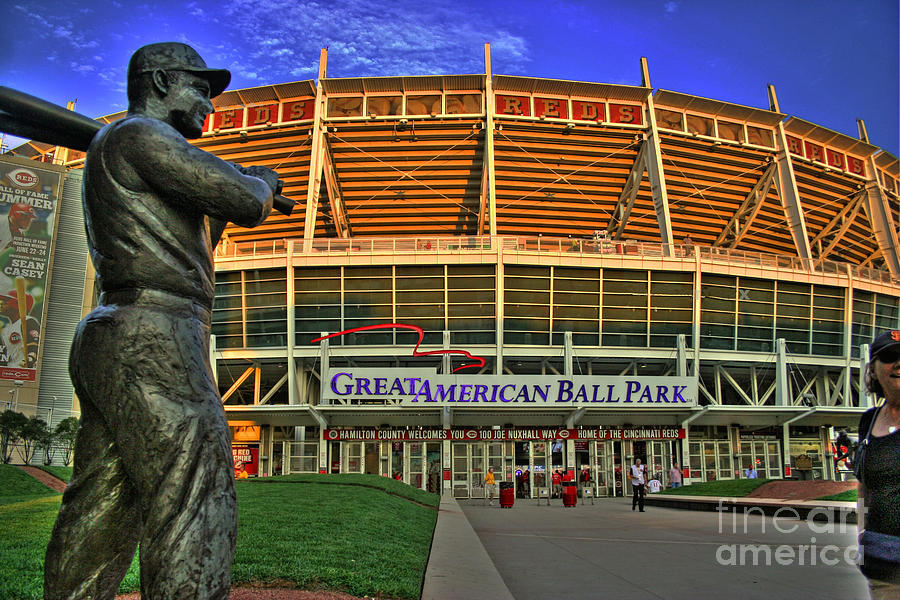 Great American Ball Park Photograph - Great American Ball Park Hdr by Morgan Wright