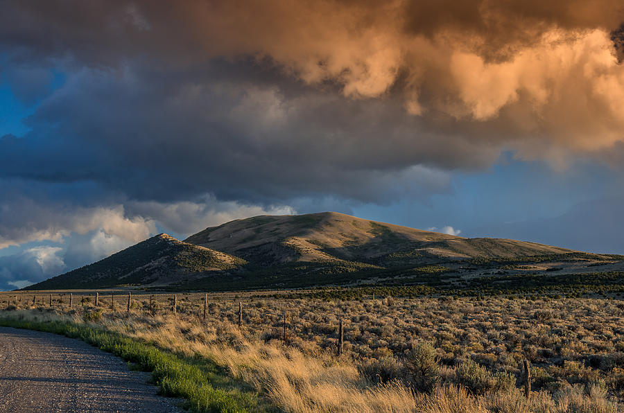 Great Basin Photograph - Great Basin Cloud by Greg Nyquist