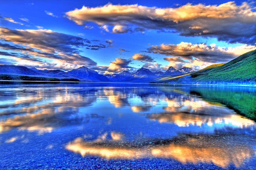 Landscape Photograph - Great Glacier Lake by Scott Mahon