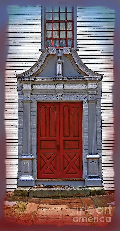 Architecture Painting   Great New England Door By Earl Jackson