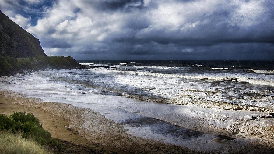 Sea Photograph - Great Ocean Road V11 by Douglas Barnard