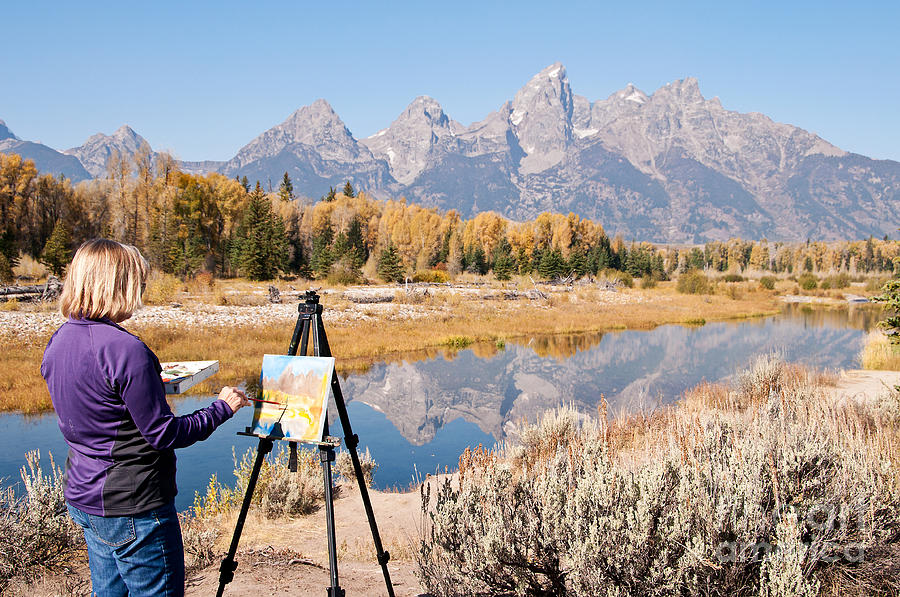 Wyoming Photograph - Great Workplace by Bob and Nancy Kendrick