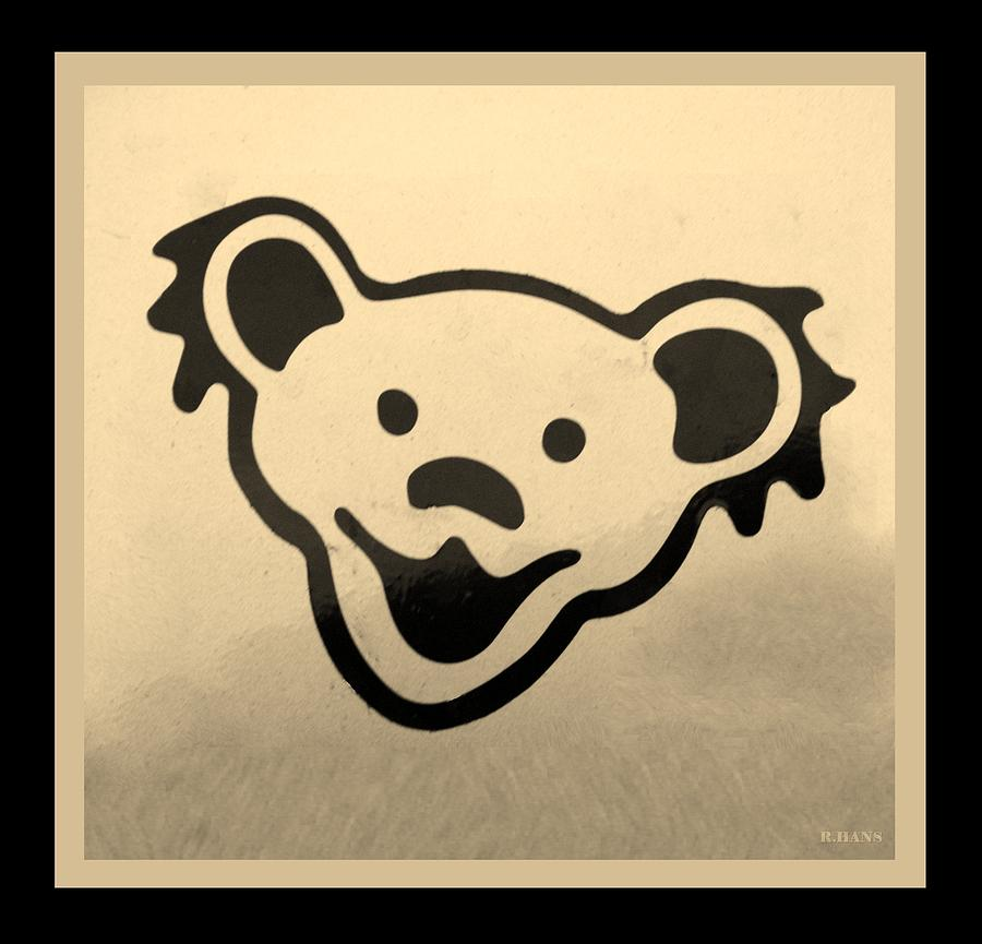 Greatful Dead Dancing Bears In Sepia Photograph By Rob Hans