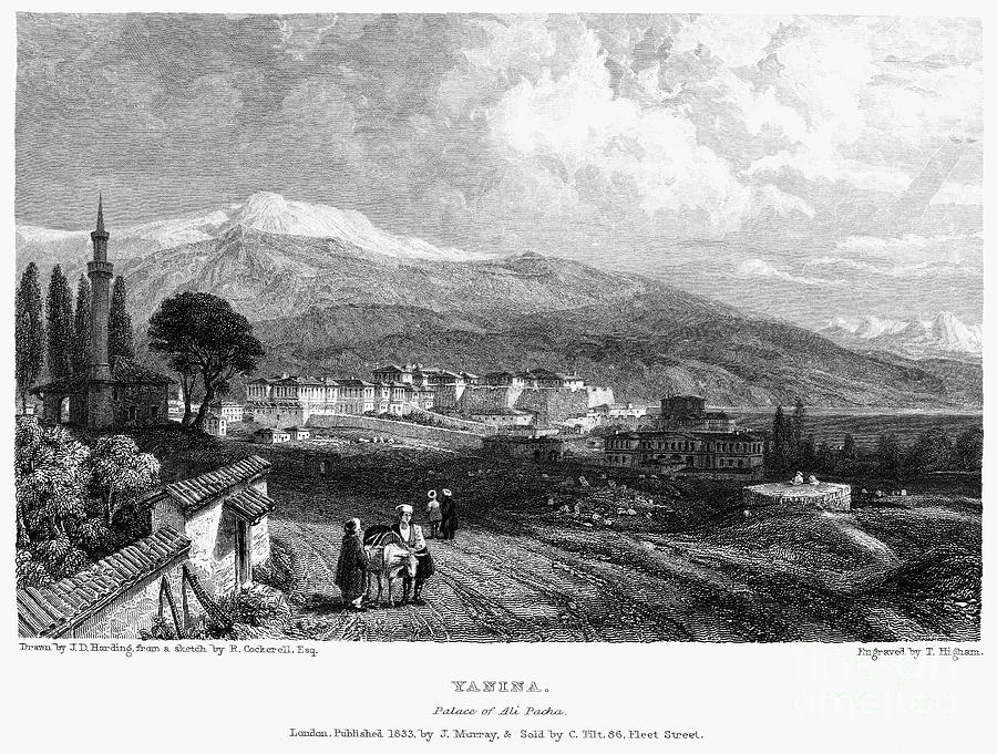 1833 Photograph - Greece: Yanina, 1833 by Granger