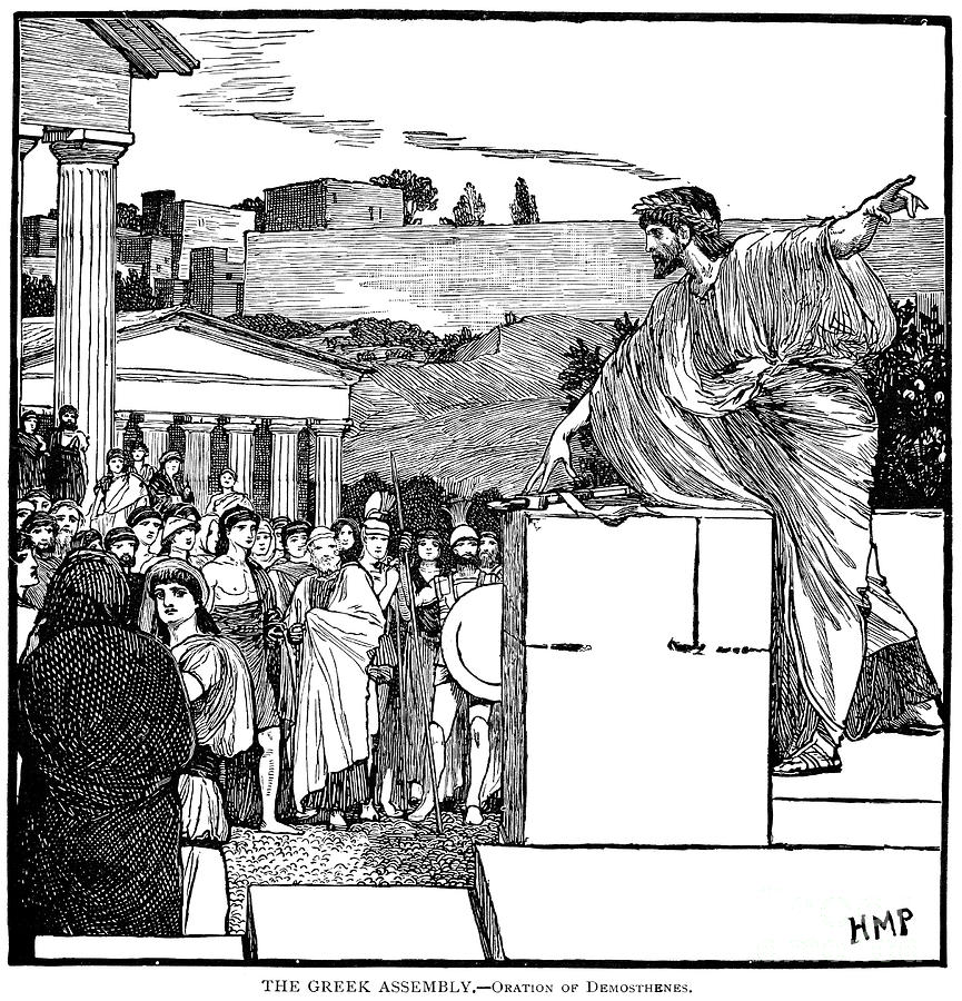 Image result for Ancient Greek assembly