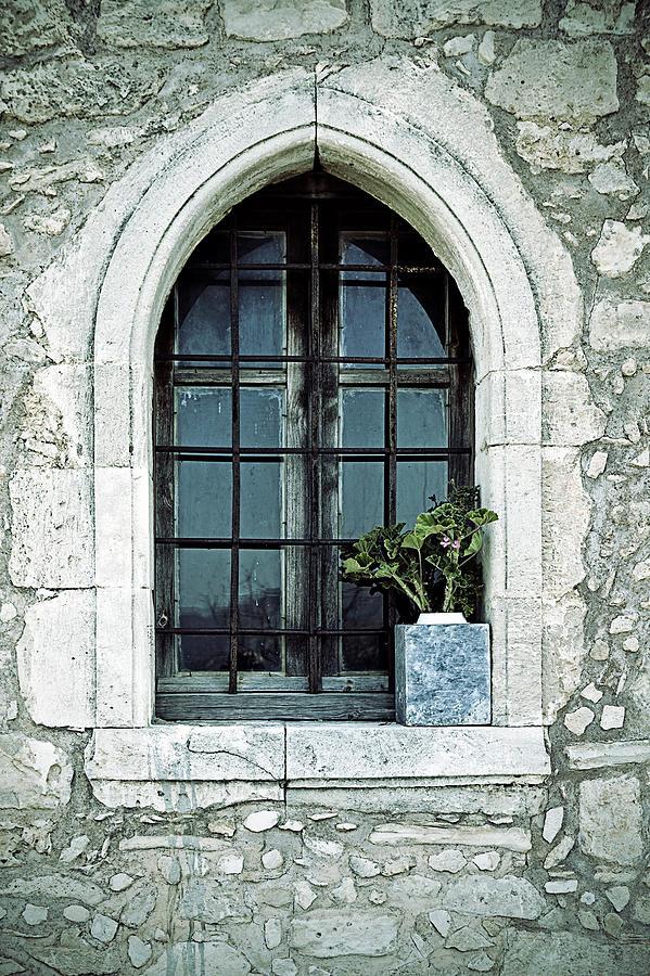 Windows Photograph - Greek Chapel by Joana Kruse