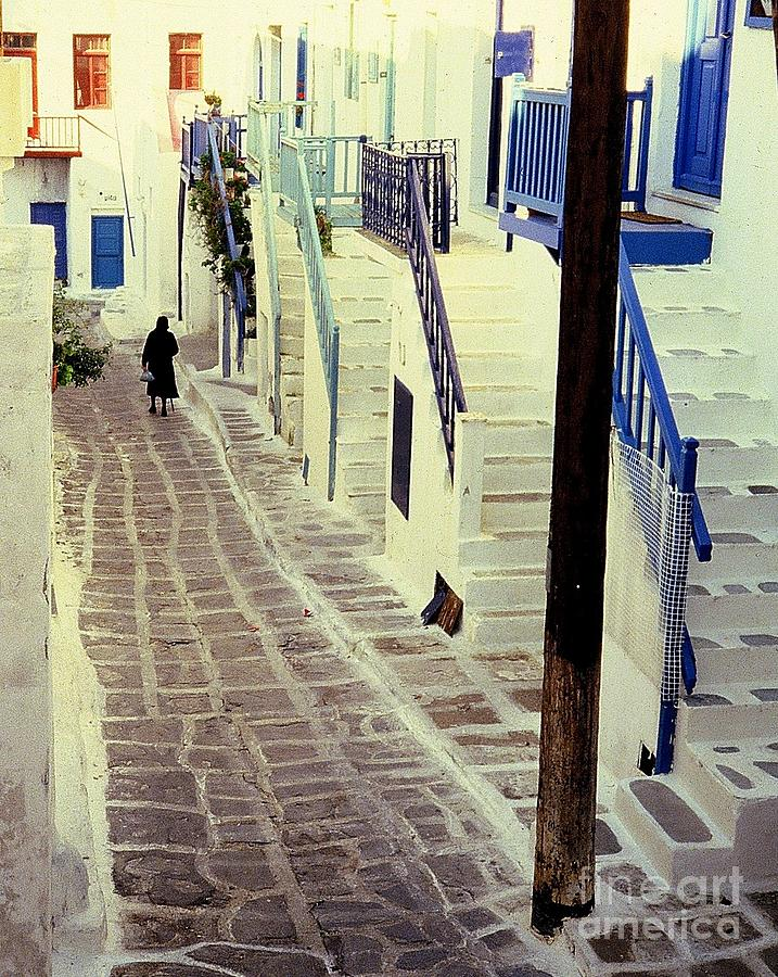 Greece Photograph - Greek Island by Ranjini Kandasamy
