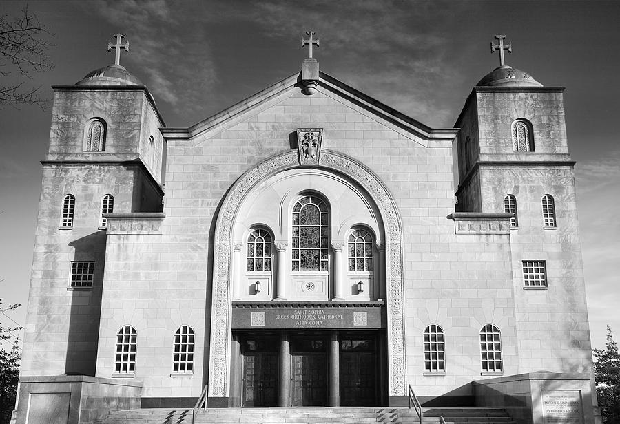 Church Photograph - Greek Orthodox Church I by Steven Ainsworth