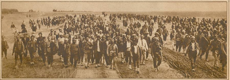 History Photograph - Greek Refugees Were Forced by Everett