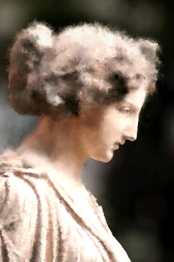 Nature Digital Art - Greek Woman by Ilias Athanasopoulos