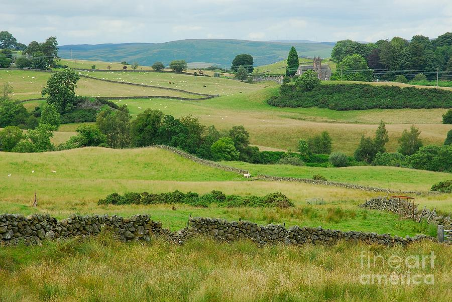 Dumfries Photograph - Green Hills Of Galloway by John Kelly